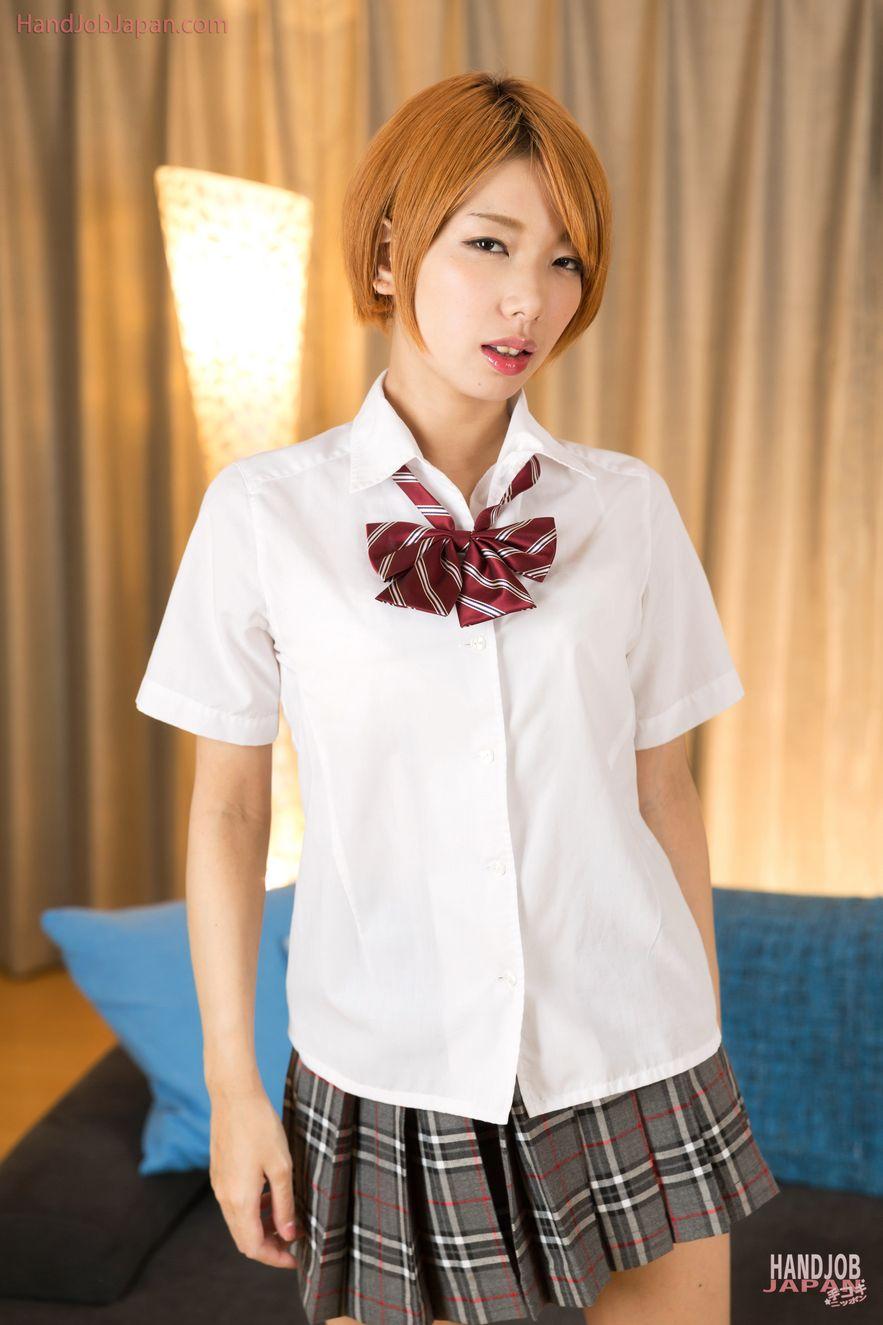 Schoolgirl Handjob